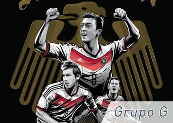Grupo G: Alemania, Portugal, Ghana y Estados Unidos | Foto ESPN
