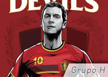 Grupo H: Bélgica, Argelia, Rusia y Corea del Sur | Foto ESPN