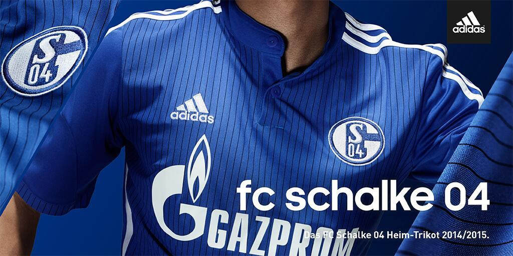 Adidas presentó la nueva casaca del Schalke 04