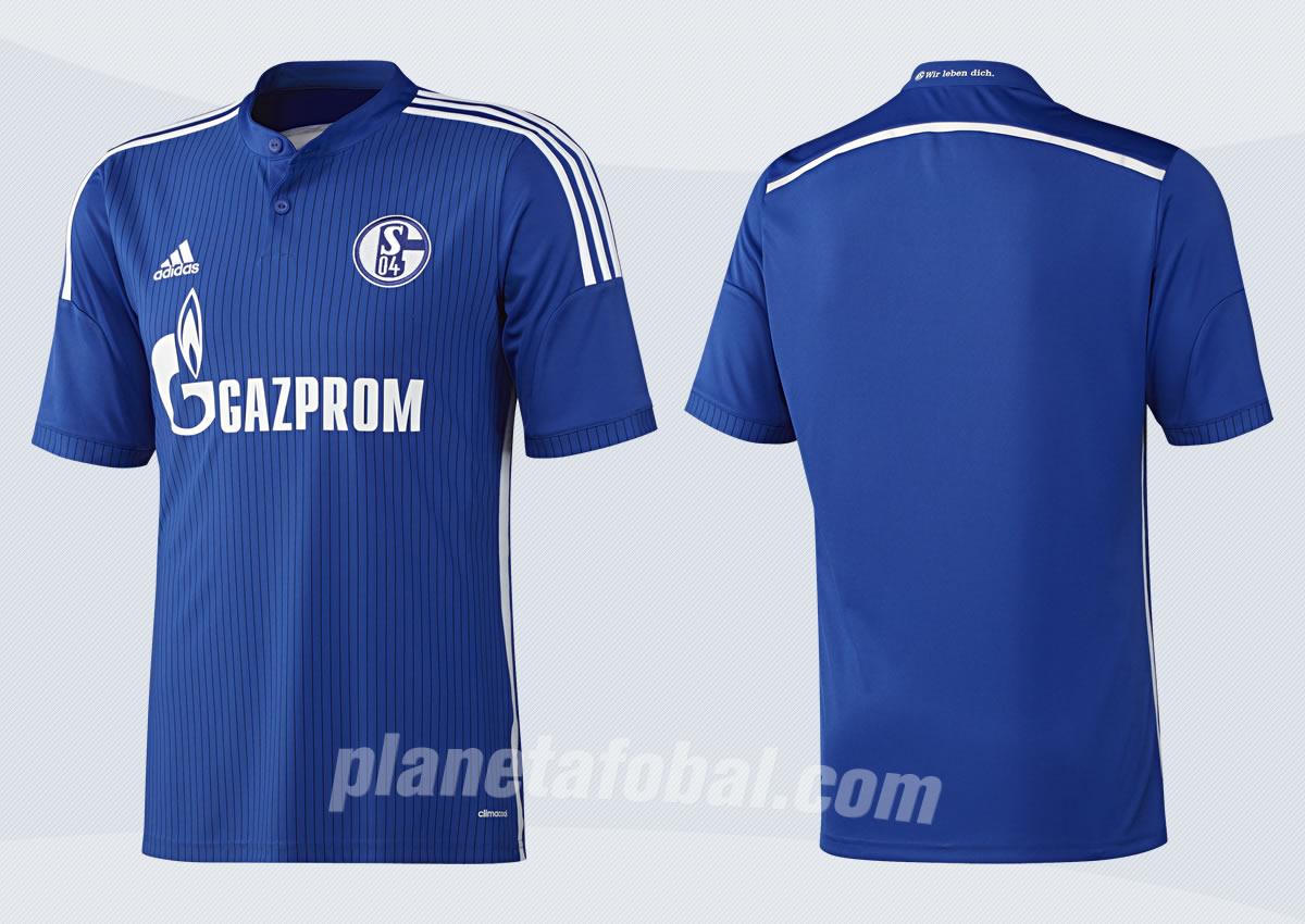 Asi luce la nueva camiseta del Schalke 04 | Imágenes Adidas