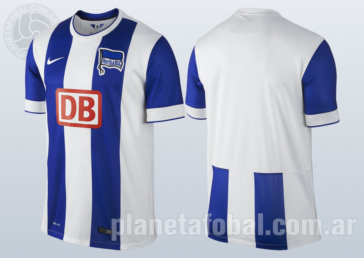 La nueva camiseta del Hertha Berlin | Imágenes Nike