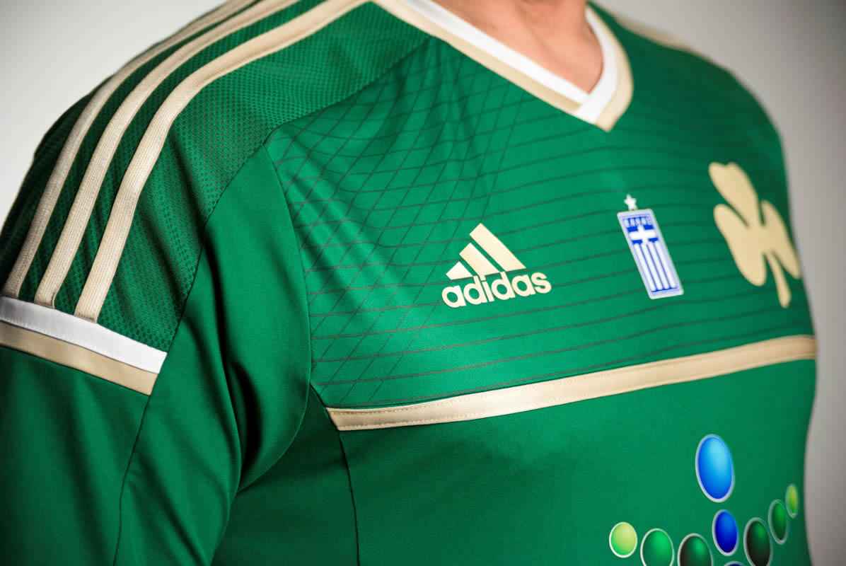 Así luce la nueva camiseta de Panathinaikos | Foto Adidas