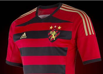 Nueva camiseta titular de Sport Recife | Foto Adidas