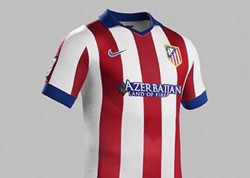 Atlético Madrid presentó su nueva camiseta principal | Foto Nike