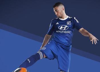 Camiseta suplente del Lyon de Francia | Imágenes Web Oficial