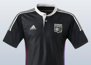 Tercera camiseta del Lyon de Francia | Imágenes Web Oficial