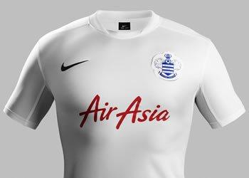 Tercera camiseta QPR | Foto Nike