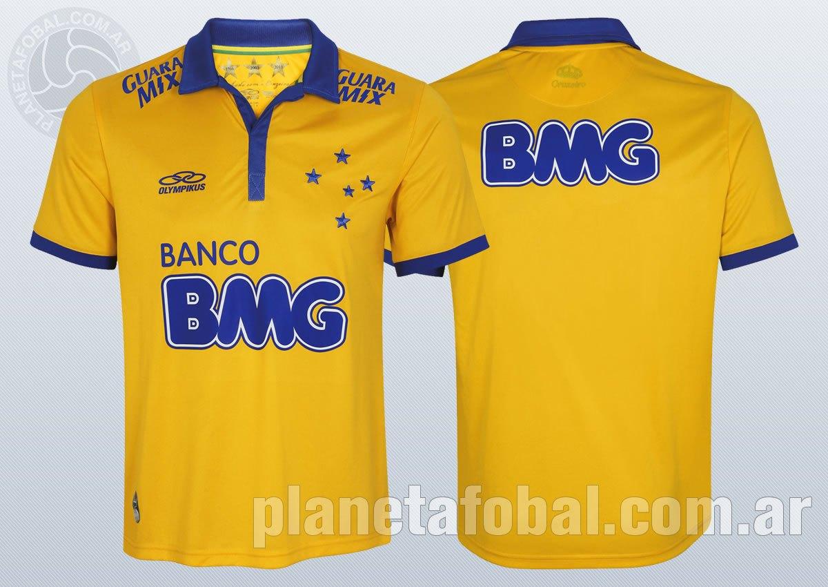 La nueva camiseta de Cruzeiro | Imágenes Web Oficial