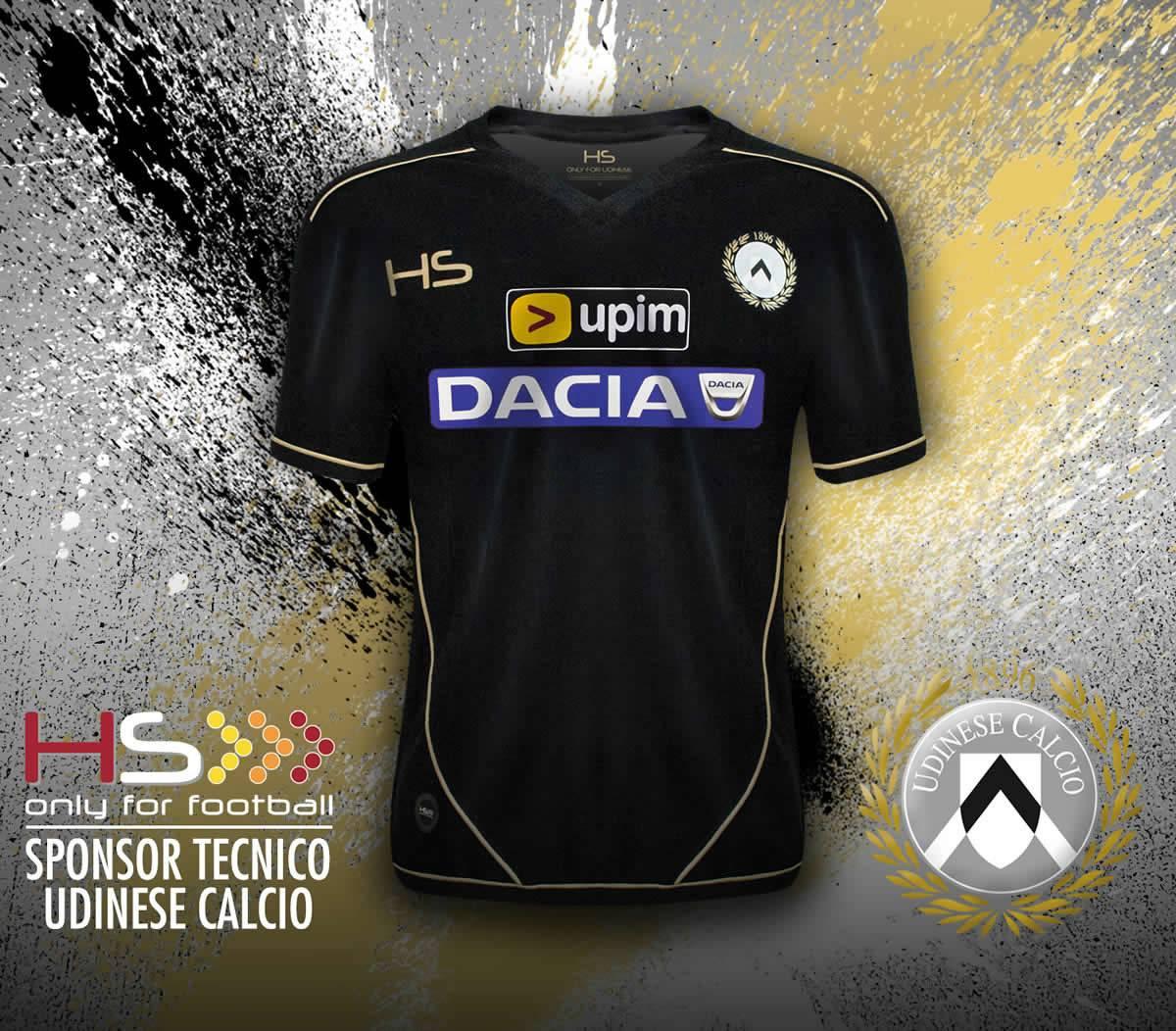 Tercera camiseta de Udinese para 2014/15 | Imagen HS Football