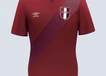 Nueva camiseta suplente de Perú | Imagen Umbro
