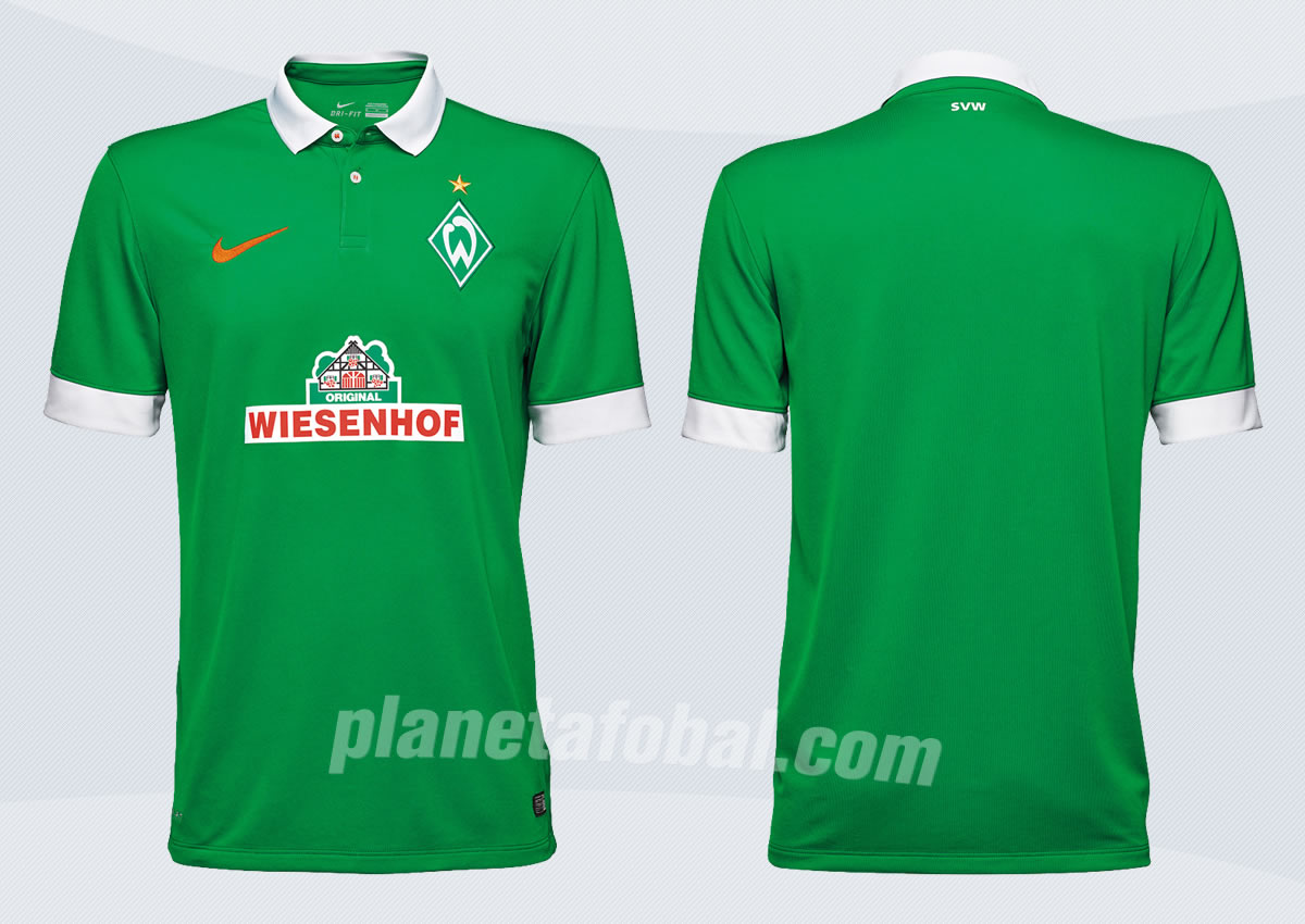 Asi luce la casaca titular del Werder Bremen | Imágenes Web Oficial