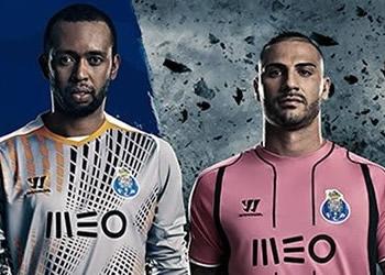 Helton, Quaresma y Fabiano con las camisetas de Porto | Foto Instagram Porto