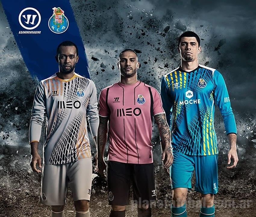 Helton, Quaresma y Fabiano con las camisetas de Porto   Foto Instagram Porto