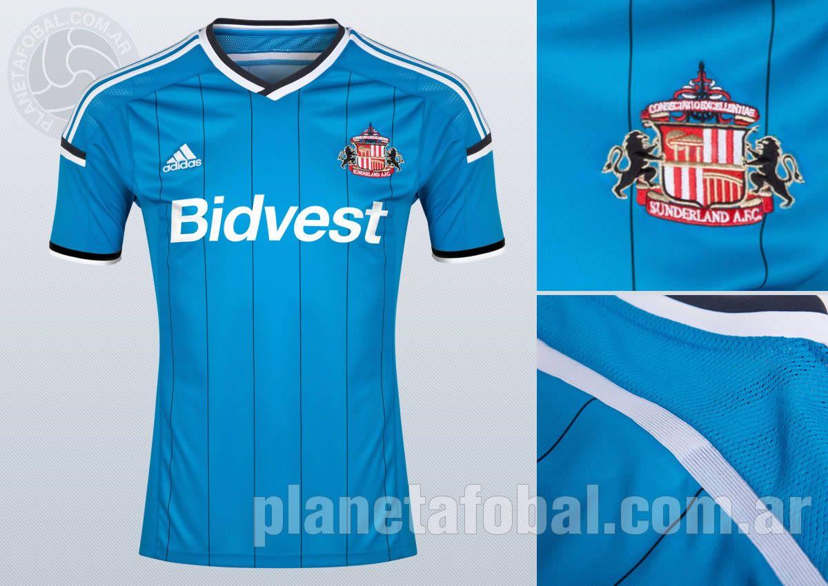 Asi luce la camiseta suplente del Sunderland | Foto Web Oficial