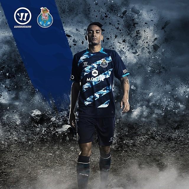 Asi luce la camiseta suplente del Porto | Foto Instagram