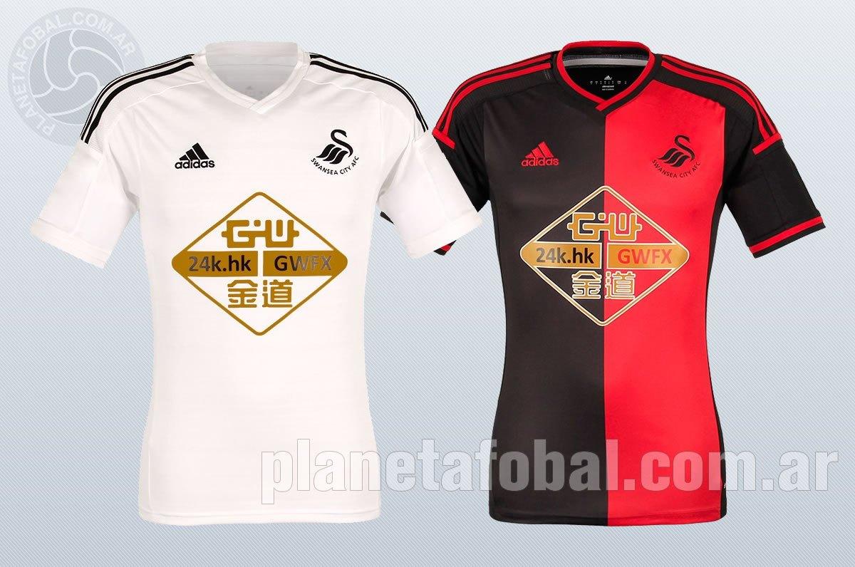 Swansea presentó sus nuevas camisetas | Imagenes web oficial