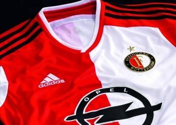 La nueva camiseta del Feyenoord | Imágenes web oficial