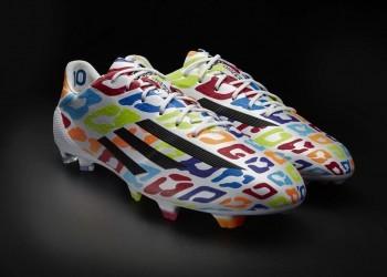 Messi Adizero F50 27 años | Foto Adidas