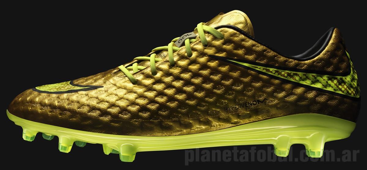 Hypervenom especiales de Neymar | Foto Nike