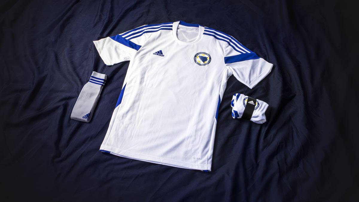 Nueva camiseta suplente de Bosnia & Herzegovina | Foto Adidas