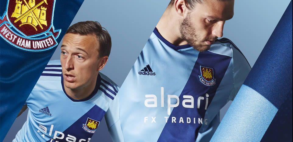 West Ham presentó su nueva camiseta suplente | Foto Facebook oficial