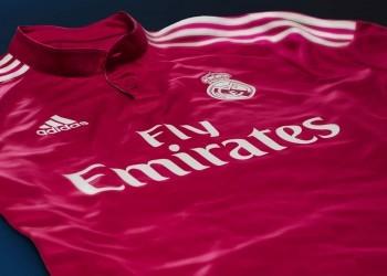 Nueva camiseta suplente rosa de Real Madrid | Foto Adidas