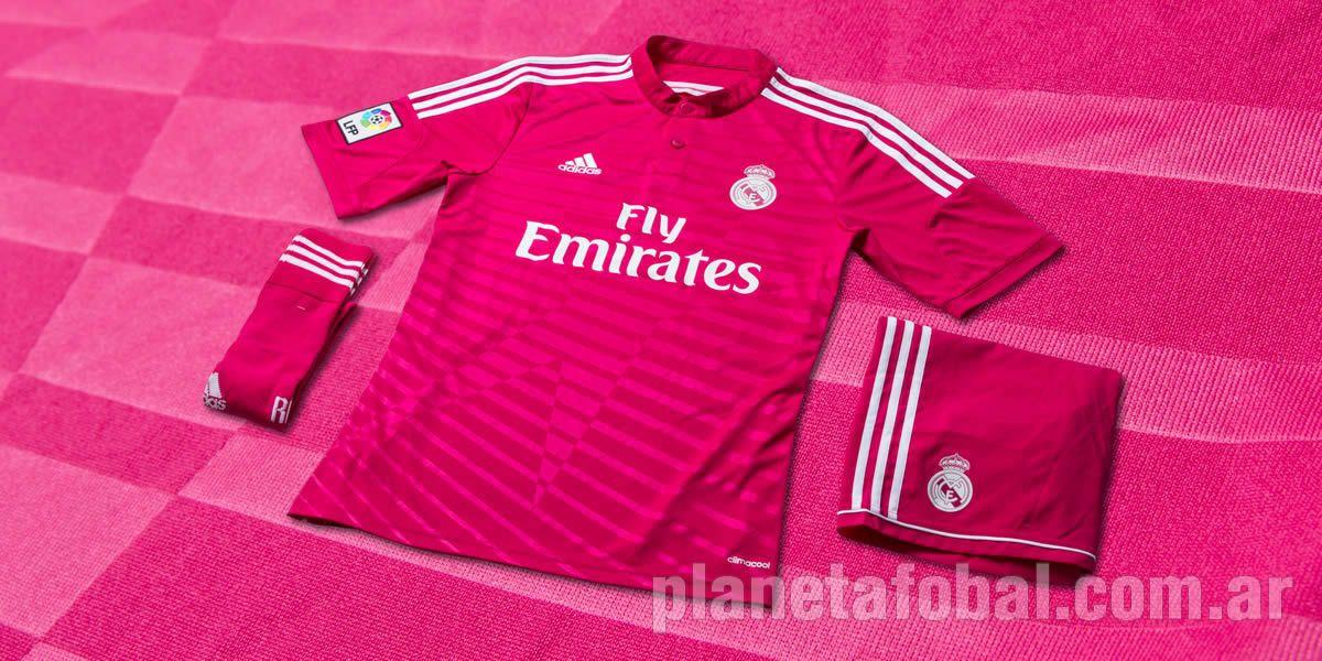 Primera vez que Real Madrid usa camiseta rosada | Foto Adidas