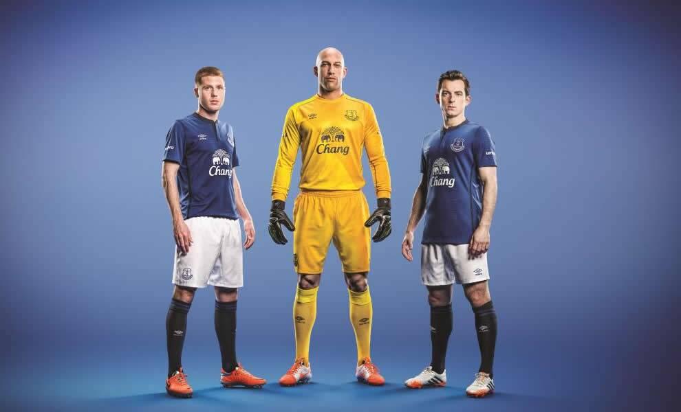 Everton presentó su nueva camiseta titular | Foto web oficial
