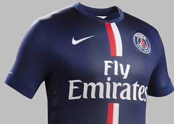 Asi luce la camiseta titular de PSG | Foto Nike