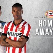 Las dos camiseta principales de PSV | Foto Web Oficial