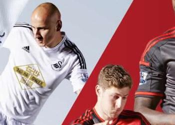 Swansea presentó sus nuevas camisetas | Foto web oficial