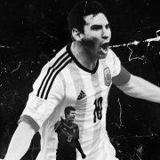 Messi y Muller en el comercial de Adidas