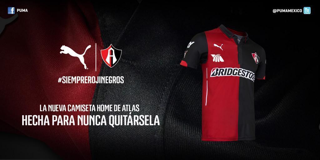 Camiseta local del Atlas | Foto Puma