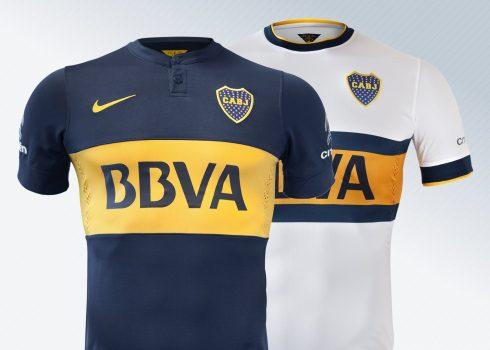 Así lucen las nuevas camisetas de Boca Juniors para 2014/2015 | Foto Nike