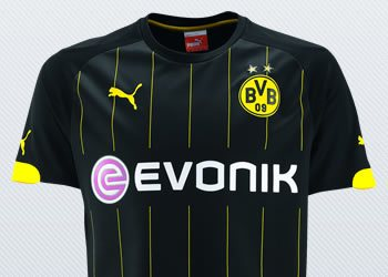 Camiseta suplente del Borussia Dortmund | Imágenes Web Oficial
