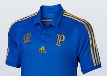 Camiseta azul del Palmeiras | Foto Web Oficial