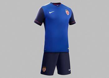 Camiseta suplente del Mónaco | Foto Nike