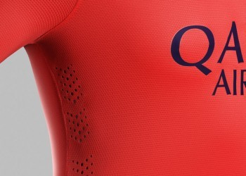 Camiseta suplente del Barcelona | Foto Nike