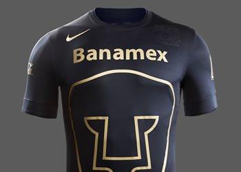 Camiseta suplente de los Pumas | Foto Nike