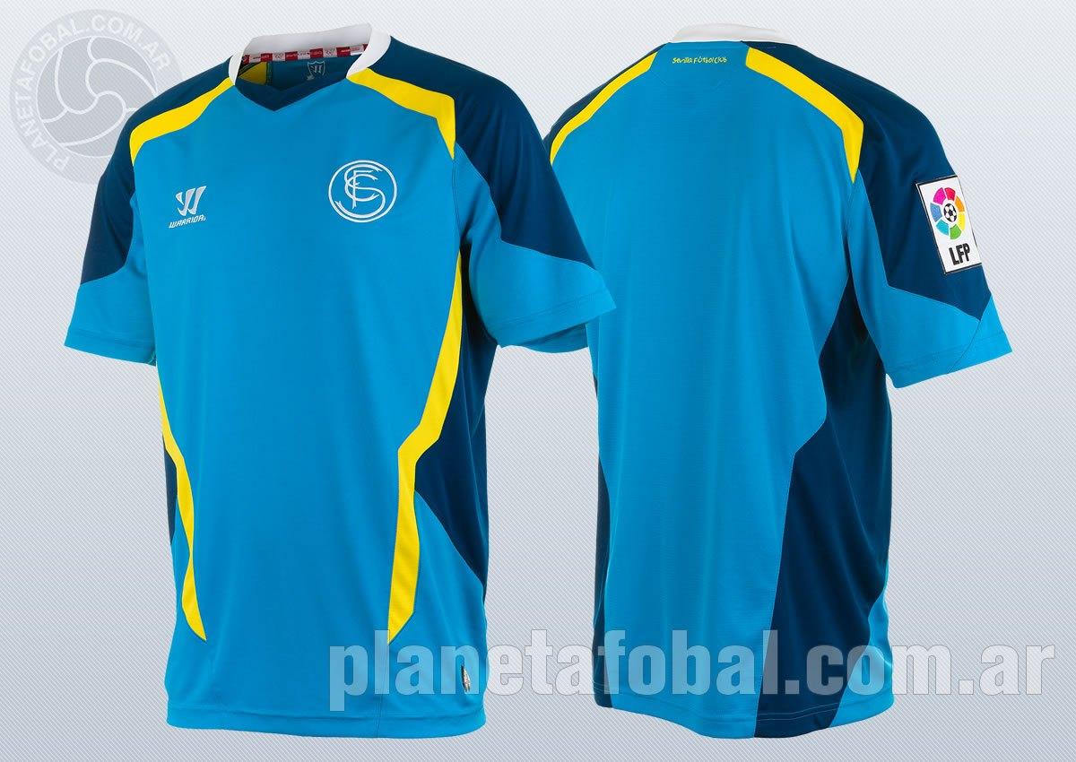 Nueva camiseta del Sevilla | Foto Warrior