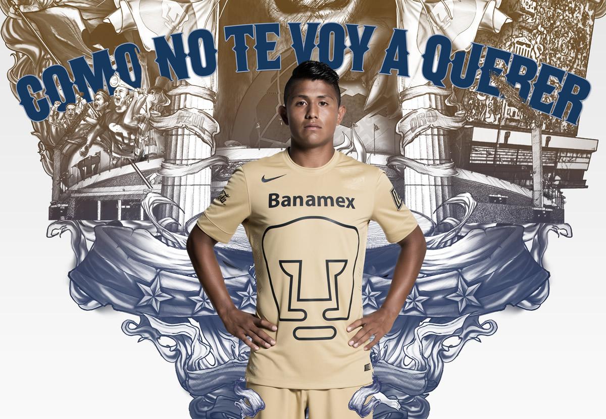 Camiseta titular de los Pumas | Foto Nike