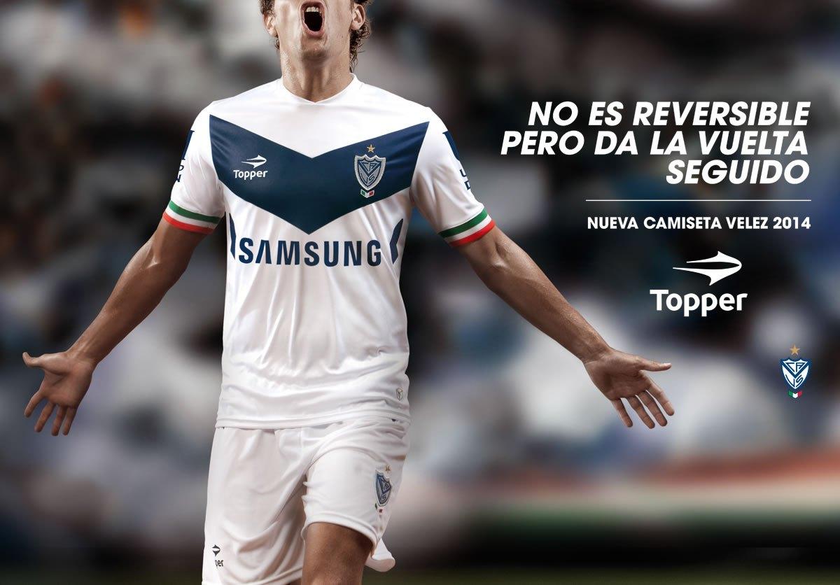 Nueva camiseta de Velez para 2014 | Foto Topper
