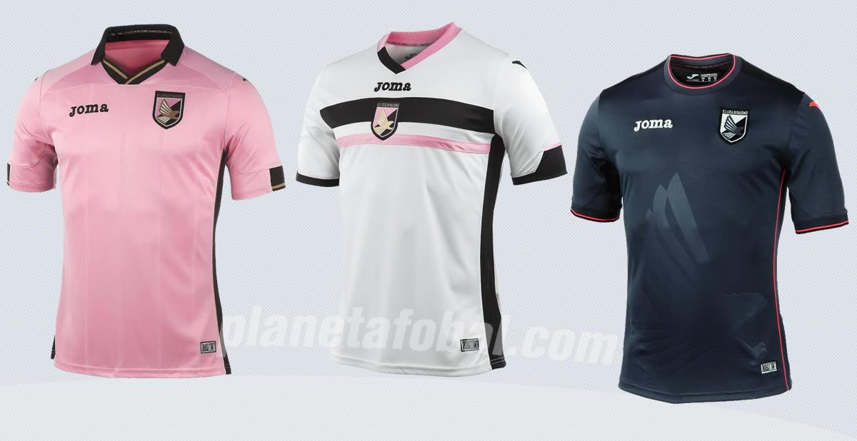 Los tres modelos de juego para el Palermo | Imágenes Joma