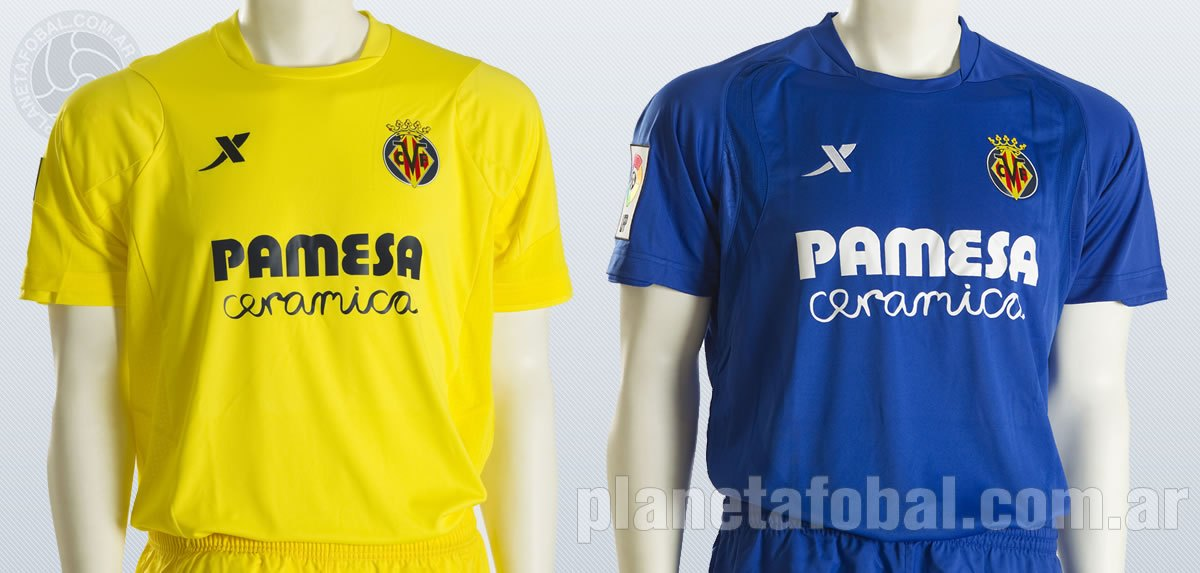 Nuevas camisetas del Villarreal | Imágenes Web Oficial