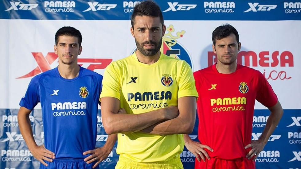 Nuevas camisetas del Villarreal | Foto Web Oficial