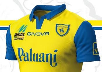 Los tres modelos del Chievo Verona para 2014/15 | Imágenes Facebook Oficial