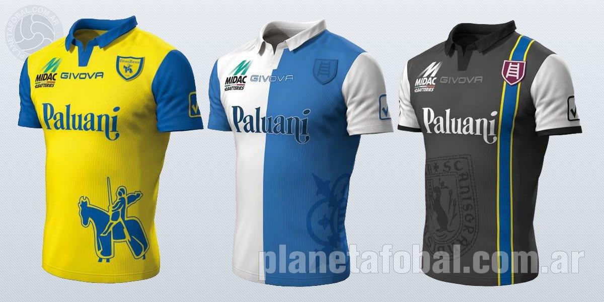 Los tres modelos del Chievo Verona para 2014/15   Imágenes Facebook Oficial