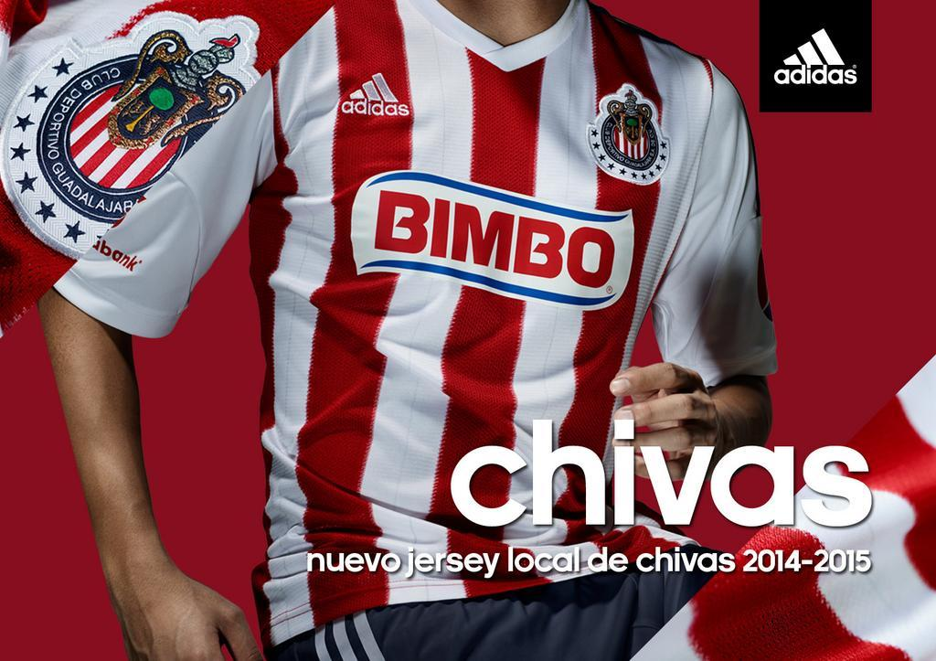 Nueva camiseta de Chivas | Imagen Twitter Oficial