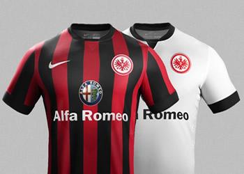 Las nuevas camisetas de Eintracht Frankfurt | Imágenes Nike