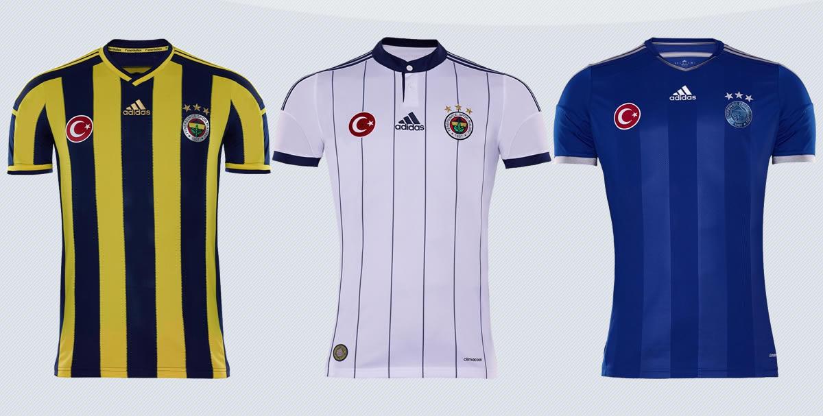 Nuevas camisetas del Fenerbahce | Imágenes Web Oficial